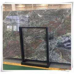 Jadeite green marble slabs