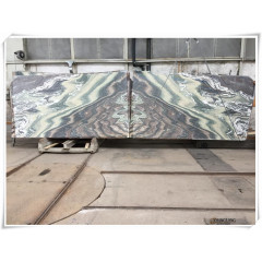 Green violet marble inner wall decorative panels