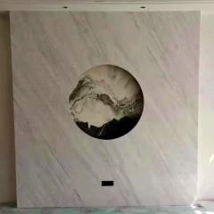 Decorative marble stone wainscot board wall panel