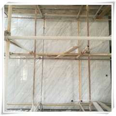 River white marble decorative interior wall paneling