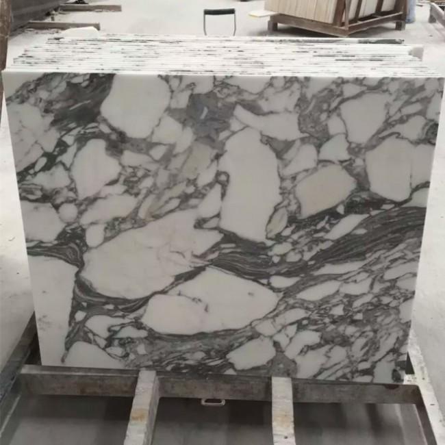 Arabescato white  Marble floor tiles