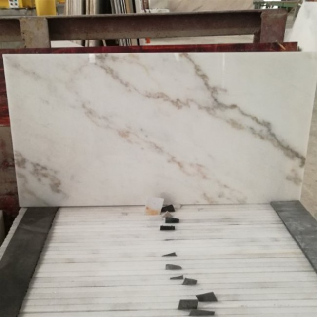River white marble tiles