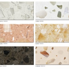 Artificial marble floor patterns