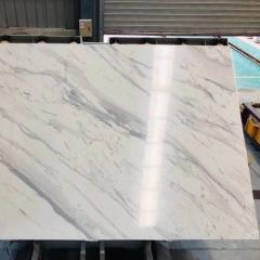 New calacatta white artificial marble floor tiles wall tiles