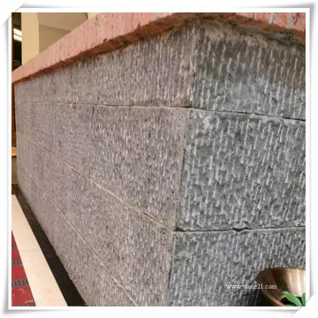 Basalt stone wall tiles