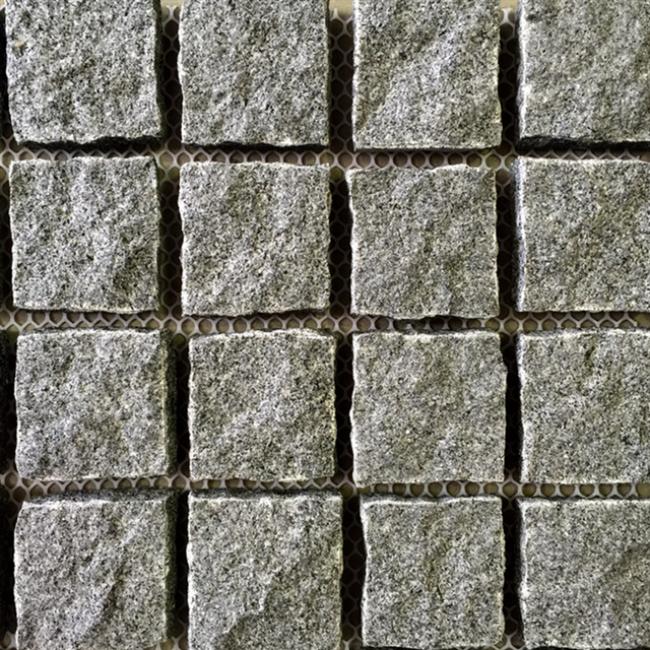 Granite cobble stone