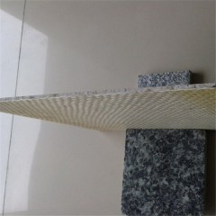 Thin granite tiles fiberglass back