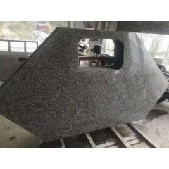 Hexagon nero impala granite kitchen countertops