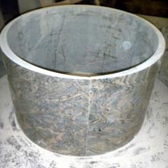 China Juparana granite hollow column
