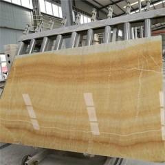 Honey onyx marble slabs