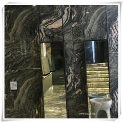 Luxury brown river onyx  stone inner wall panels