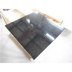 Lowest price Black galaxy granite floor tiles wall tiles