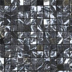 Black marquina marble mosaic