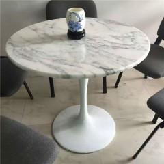 Italian white marble table