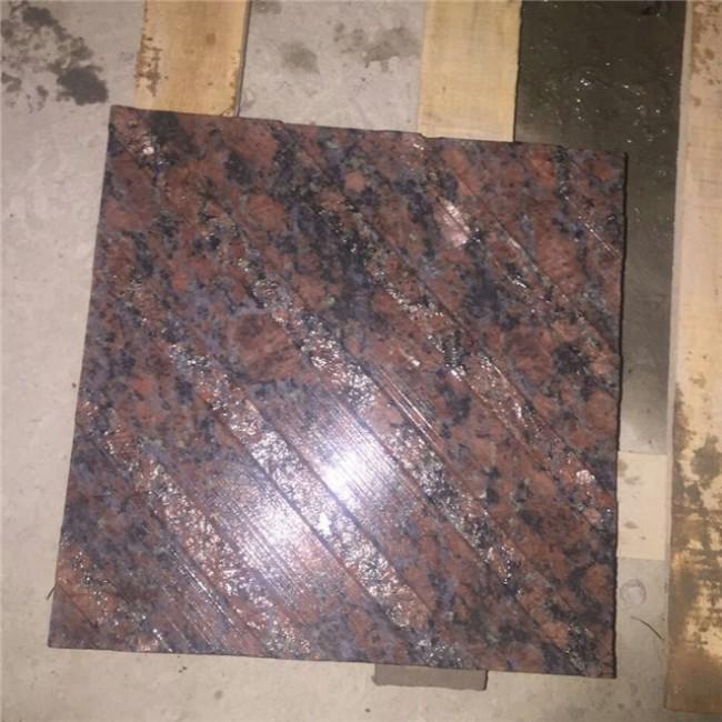 Tan brown Granite Tactile Tile