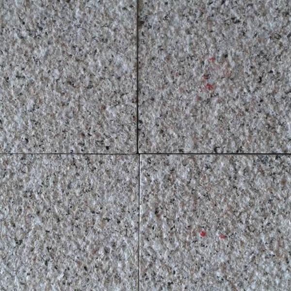 bush hammered G 635 granite