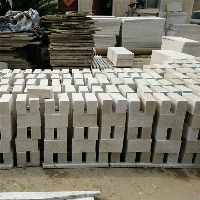 white granite bricks
